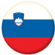 Slovenia Country Flag 25mm Pin Button Badge
